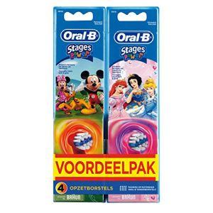 Oral-B EB10-2 Stages Power - 2 brossettes supplémentaires pour enfants