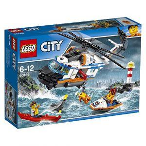 Lego 60166 - City : L'Hélicoptère de secours