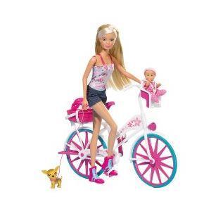 Simba Toys Steffi Love et son vélo