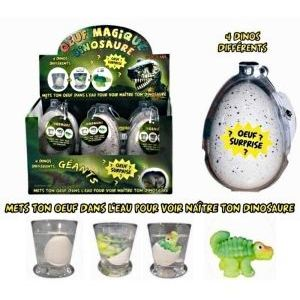 CMP Oeuf de dinosaure géant magique (modèle aléatoire)