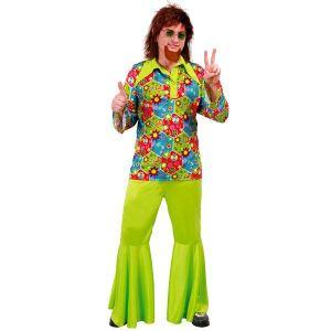 Fiesta guirca Déguisement hippie homme