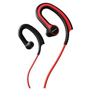 Pioneer SE-E711T-W - Écouteurs tour d'oreille sport