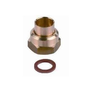 Clesse PP04523 - Raccord P45-41 2 pièces à écrou tournant à braser sur tube cuivre D12 pour butane propane sous coque