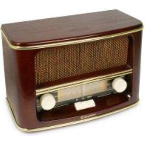 Roadstar HRA-1500/N - Radio FM/MW en bois vintage