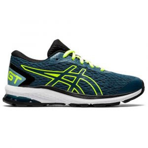 Asics Gt - 1000 9 Gs Magnetic Blue / Safety Yellow Enfants Taille 34.5