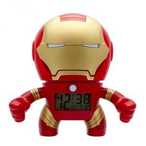 Bulb Botz 2020046 - Réveil lumineux Iron Man Marvel Comics