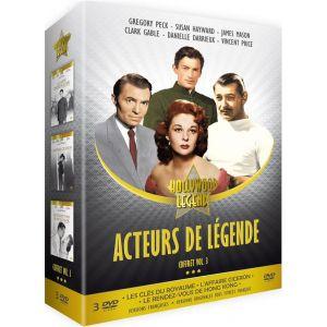 Acteurs de légende Vol. 3 : Les Clés du royaume + L'Affaire Cicéron + Le Rendez-vous de Hong Kong [DVD]