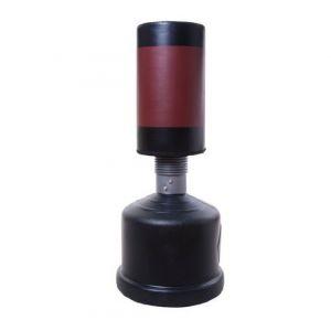 Homcom Sac de frappe boxe autoportant punching ball hauteur reglable 160-185cm 44