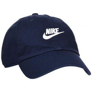 Nike Casquette Sportswear Heritage86 Futura Washed - Bleu - Taille Einheitsgröße - Unisex