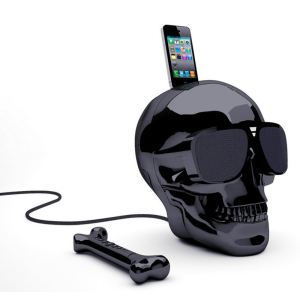 Jarre Technologies AeroSkull HD - Enceinte pour iPhone 5/5C/5S