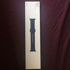 Apple MLL02ZM/A - Bracelet Sport Bleu nuit 42 mm