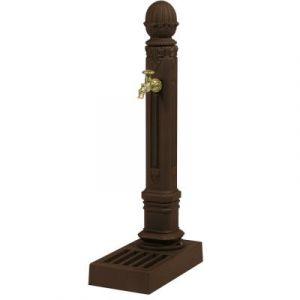 Fontes d'Art Dommartin Borne fontaine Griffon Brun antique