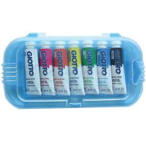 Giotto Boite de 7 tubes de gouache éxtra-fine (10 ml)