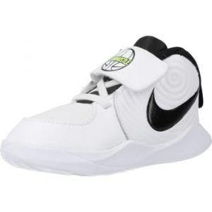 Nike Chaussure Team Hustle D 9 pour Bébé/Petit enfant - Blanc - Taille 19.5 - Unisex