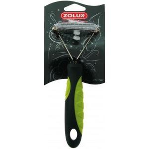 Image de Zolux Etrille démêloir sécurisée pour chien 10 dents