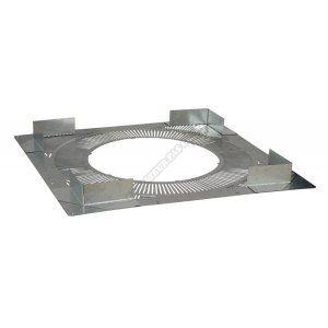 Poujoulat Plaque distance de sécurité Ø 80-130 millimètres