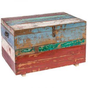 Lynco Malle calypso bois extérieur 70 x 45 x 45 cm