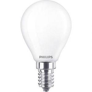 Philips Ampoule LED E14 Lighting 929001345401 en forme de goutte 2.2 W = 25 W blanc chaud (Ø x L) 45 mm x 80 mm EEC: cla