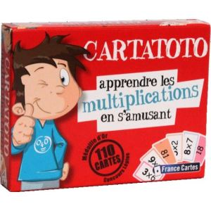 France Cartes Cartatoto Multiplications