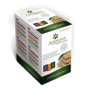 Applaws Sélection 12 x 70 g pour chat - poulet