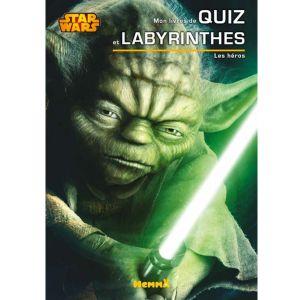 Cahier de quiz et labyrinthes Disney Les héros Star Wars