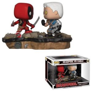 Funko Lot De 2 Figurines Pop! Deadpool Vs Cable - Comic Moments