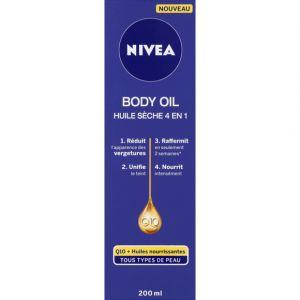 Nivea Huile sèche Body 4 en 1 S10 - Le flacon de 200 ml