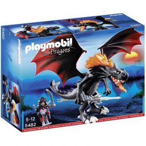 Playmobil 5482 Dragons - Grand dragon royal avec flamme lumineuse
