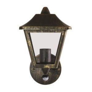 Osram Applique extérieur Endura Classic Tradition Up Sensor Alu - E27 - Noir et Gris