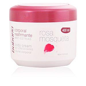 Babaria Rosa Mosqueta - Crema corporal reaffirmante anti-estrías 400 ml