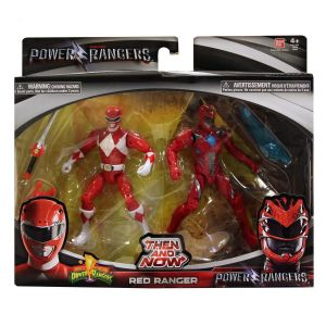 Bandai Power Rangers le Film - Coffret 2 figurines Legende Ranger rouge 12 cm