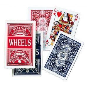 Piatnik Jeu de 55 cartes : Wheels Bridge