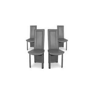 Lune - 4 chaises design pour salle à manger