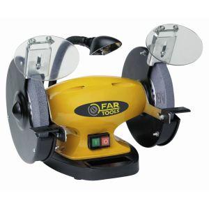 Far Tools BG 200 - Touret à meuler 550W avec lampe