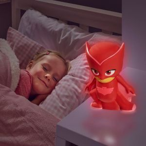 Worlds Apart PYJAMASQUES Veilleuse et lampe torche GoGlow Buddy - Rouge