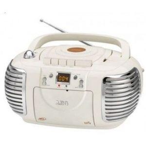 AEG NSR 4377 - Radio stéréo rétro cassette/CD/MP3/USB