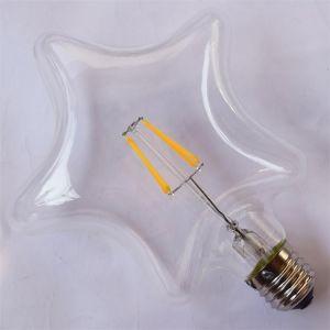 Ampoule LED dimmable rétro Edison Étoile (L.11,5cm) filament 4W (E27)
