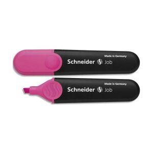 """Schneider (Papeterie) Novus Vertriebs - Surligneur """"job 150"""", rose, avec clip pointe biseautée, largeur de tracé: 1,0 - 4,0 mm (1509)"""