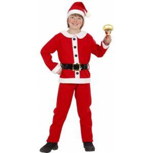 Déguisement Père Noël garçon 4 à 5 ans