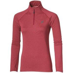 Asics Half-Zip Jersey Top Women pink