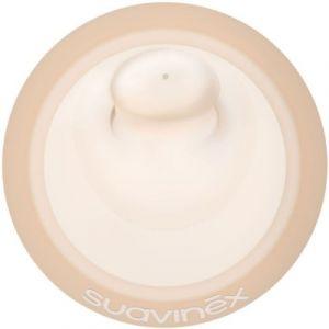 Suavinex Lot de 2 tétines pour biberon anti-colique zero zero débit moyen