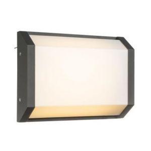 Globo Lighting Applique extérieure aluminium fonte anthracite - Plastique opal