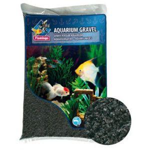 Flamingo Gravier Noir Pour Mini Aquariums Marins 2,5 Kg 2,5 Kg