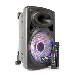 Fenton MONACOR 170.033 Sono portable 250w noir avec bluetooth