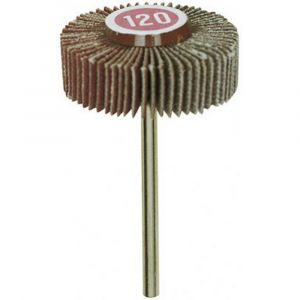 Brosse abrasive Proxxon Micromot granulation K120 10x30mm