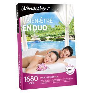 Wonderbox Bien-être en duo - Coffret cadeau 1680 soins
