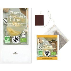 Florisens Tisane Citron Gingembre Bio 20 sachets