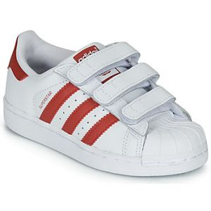Adidas Chaussures enfant SUPERSTAR CF C blanc - Taille 28,29,30,31,32,33,34,35,33 1/2,31 1/2,30 1/2,28 1/2