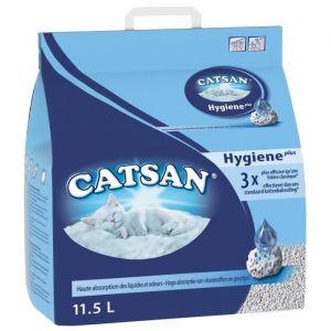 Catsan Hygiène Plus 11,5 L - Litière pour chat