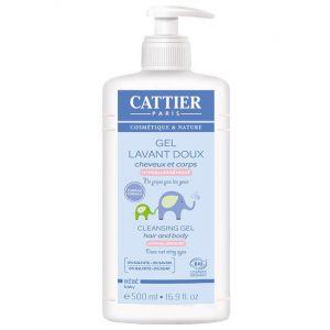 Cattier Gel Lavant Doux bébé bio - 500 ml